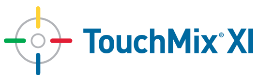 TouchMix® XI Logo with Bullseye design